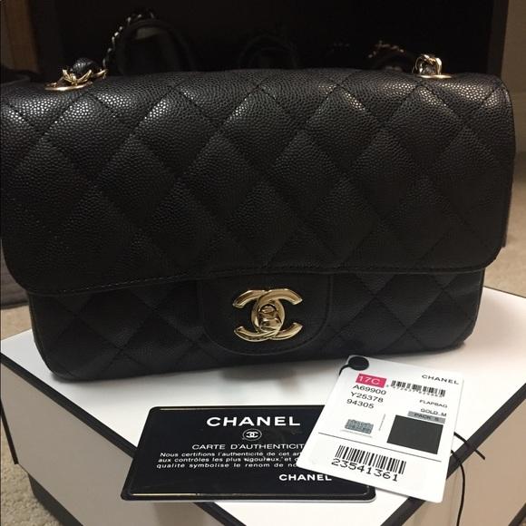 32b4f12a9d03 CHANEL Handbags - CHANEL Rectangular Black Mini❣️
